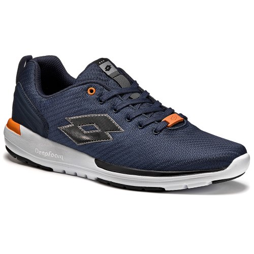 Кроссовки мужские CITYRIDE WHY AMF NAVY DARK/BLACK Lotto T3965