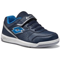 Кроссовки для тенниса детские SET ACE XII CL SL BLUE AVIATOR/BLUE MOON Lotto T4167