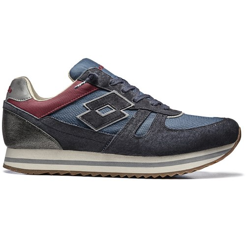 Кроссовки мужские RHAZHE DARK NAVY/BLUE ASHES Lotto T4600