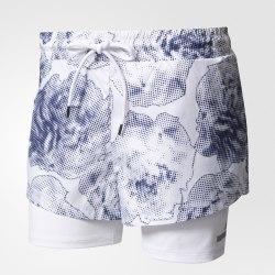 Шорты женские RUN 2IN1 SHORT Adidas S99223