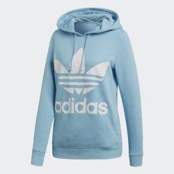 Худи женская TREFOIL HOODIE Adidas DH3145