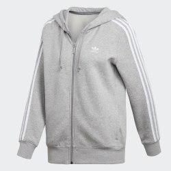 Худи женская 3STR ZIP HOODIE Adidas DN8155