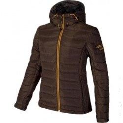 Куртка CMP пуховая WOMAN JACKET ZIP HOOD terra mel CMP 3Z40636-Q930