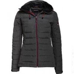 Куртка CMP пуховая WOMAN JACKET ZIP HOOD nero mel CMP 3Z40636-U973