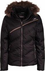 Куртка CMP лыжная WOMAN SKI JACKET ZIP HOOD Nero CMP 3W00446-U901