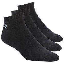 Носки спортивные короткие ACT CORE INSIDE SOC BLACK|BLAC Reebok DU2990