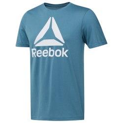 Футболка мужская QQR- Reebok Stacked MINMIS Reebok DU4690