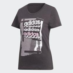 Футболка женская Linear Tee I BLACK Adidas DV3012