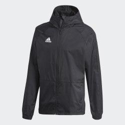 Мужская ветровка CON18 RAIN JKT BLACK WHIT Adidas BQ6528