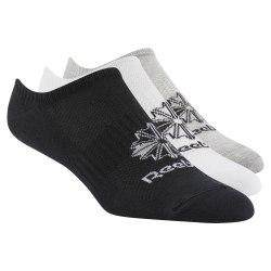 Носки спортивные короткие CL FO Invisible 3P WHITE|MGRE Reebok DL8656 (последний размер)