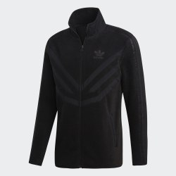 Толстовка мужская PFLEECE TRKTOP BLACK Adidas EC3675 (последний размер)