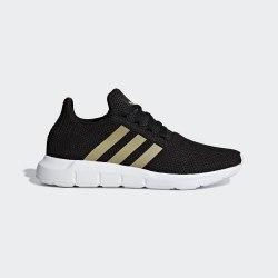 Кроссовки для бега женские SWIFT RUN W CBLACK|TES Adidas F34309