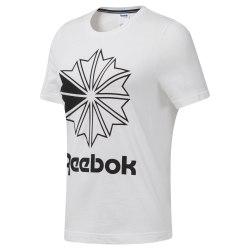 Футболка женская AC GR TEE WHITE|BLAC Reebok DT7220