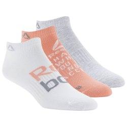 Короткие носки FOUND W 3P INVISBLE STEPNK|LGR Reebok DU2816