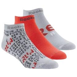 Короткие носки RUN CLUB MENS 3P SO COLGR2|NEO Reebok DU2833