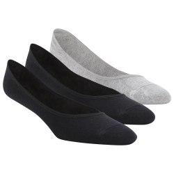 Короткие носки ACT FON INVISIBLE S BLACK|BLAC Reebok DU2980