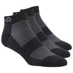 Короткие носки ACT FON ANK SOCK 3P BLACK|BLAC Reebok DU2983