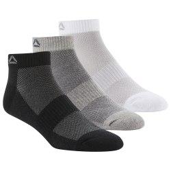 Короткие носки ACT FON ANK SOCK 3P BLACK|MGRE Reebok DU2984
