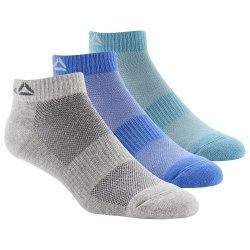Короткие носки ACT FON ANK SOCK 3P MINMIS|MGR Reebok DU2985