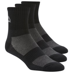 Средние носки ACT FON MID CREW SO BLACK BLAC Reebok DU3014