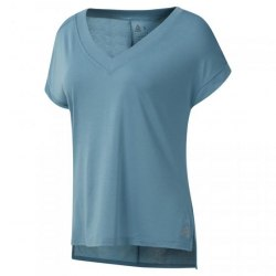 Женская футболка WOR SUP DETAIL TEE MINMIS Reebok DU4888