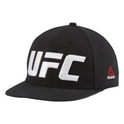 Кепка UFC FLAT PEAK CAP BLACK Reebok