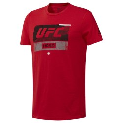 Футболка мужская UFC FG FIGHT WEEK T PRIRED Reebok DU4573