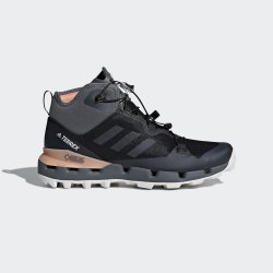 Ботинки женские TERREX FAST MID GTX CBLACK|GRE Adidas AH2250