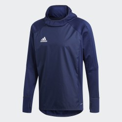 Мужской джемпер TIRO17 WARM TOP DKBLUE|WHI Adidas BP5427 (последний размер)