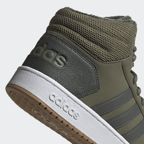 Кроссовки мужские повседневные HOOPS 2.0 MID RAWKHA|LEG Adidas EE7370