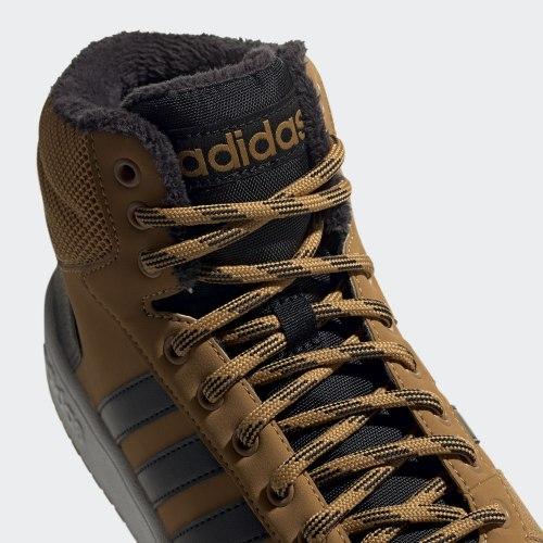 Кроссовки повседневные мужские HOOPS 2.0 MID MESA|CBLAC Adidas EE7371