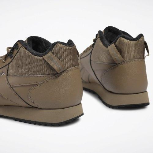 Мужские высокие утепленные кроссовки REEBOK ROYAL GLIDE THATCH BLA Reebok Classic FV4169 (последний размер)