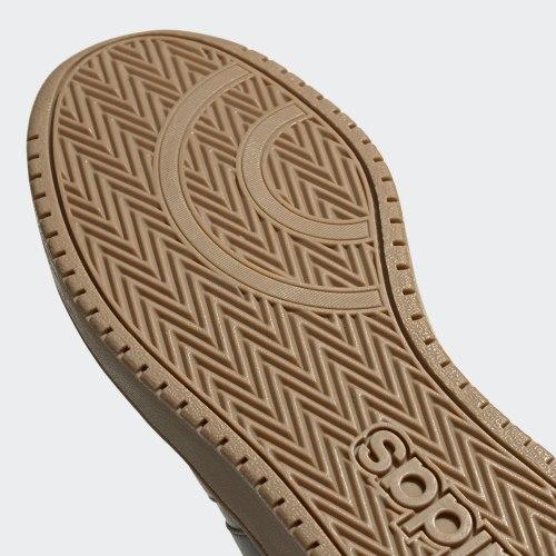 Кроссовки высокие мужские HOOPS 2.0 MID GREFIV GRE Adidas EE7373