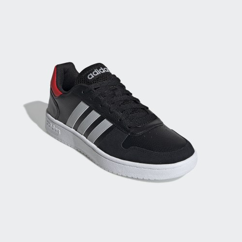 Кроссовки мужские HOOPS 2.0 CBLACK|GRE Adidas EE7800