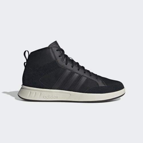 Кроссовки мужские COURT80S MID CBLACK|CBL Adidas EE9679