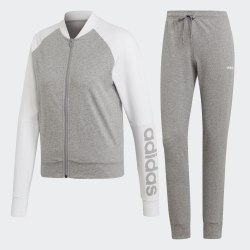 Женский спортивный костюм WTS NEW CO MARK MGREYH|WHI Adidas EI0756