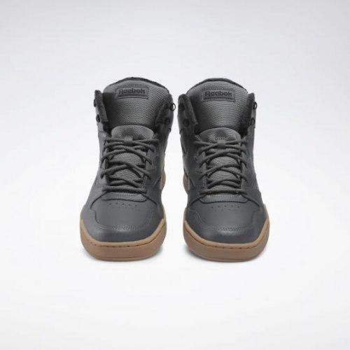 Кроссовки мужские высокие утеплённые REEBOK ROYAL BB4500 TRUGR7|BLA Reebok FV4203