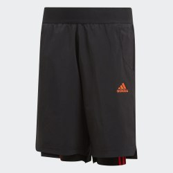 Детские шорты YB P 2IN1 SHORT BLACK|SOLR Adidas DV1341