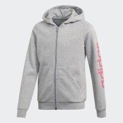 Детская толстовка YG E LIN FZ HD MGREYH|REA Adidas EH6125