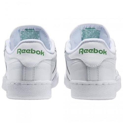 Кроссовки мужские CLUB C 85 WHITE|GREE Reebok AR0456