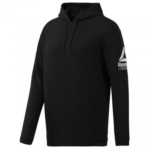 Мужская толстовка WOR FLEECE OTH HOOD BLACK Reebok EC0880