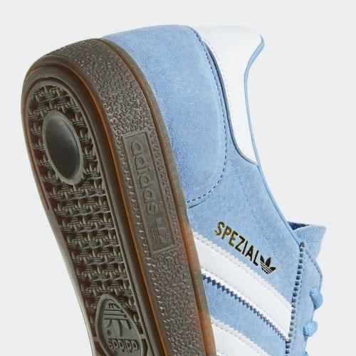 Кроссовки мужские HANDBALL SPEZIAL LTBLUE FTW Adidas BD7632 (последний размер)