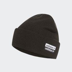 Шапка CUFF KNIT BLACK WHIT Adidas ED8017
