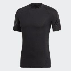 Мужская футболка ASK TEC SS 3S BLACK Adidas DQ3563