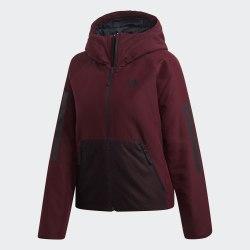 Женская утепленная куртка W BTS 3S HO J MAROON Adidas DZ1516