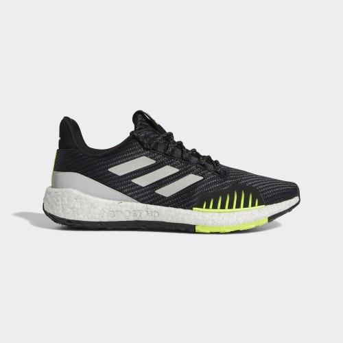 Кроссовки для бега утепленные мужские PulseBOOST HD WNTR CBLACK|GRE Adidas EF8904