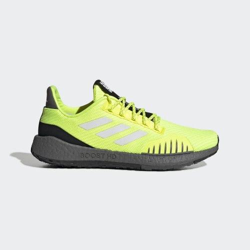 Кроссовки для бега утепленные мужские PulseBOOST HD WNTR SYELLO FTW Adidas EF8906
