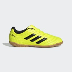 Детские футзалки COPA 19.4 IN J SYELLO CBL Adidas F35451
