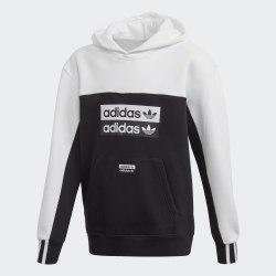 Детское худи HOODIE BLACK|WHIT Adidas FM6627