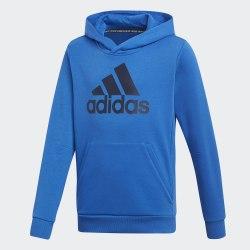 Детское худи YB MH BOS PO BLUE|CONAV Adidas DV0824